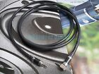 3.5mm male to male High Quality HiFi Headphone AUX Audio Cable Carbon PluG