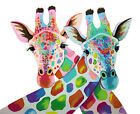 Colorful Giraffes Needlepoint Canvas For Beginners 151