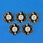 1w 3w Royal Blue/Blue led 450nm 460nm LED Chip with 20mm star base pcb Heatsink