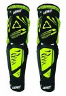 NEW LEATT BRACE 3DF HYBRID EXT MX DIRT BIKE KNEE/ SHIN GUARDS ADULT LIME PAIR
