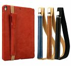 Genuine Leather Sleeve Bag Holder Pouch with Carry Strap For Apple iPad Pencil