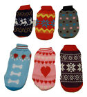 Dog Jumper Sweater For Small Dogs Puppies Assorted Colours & Sizes Aussie Seller