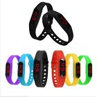 UNISEX LED Silicone Sport Digital watch,Touch watch lovers student watch