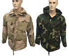 Mens Med & Lrg Military Camouflage Cold/Wet Weather Gore-Tex Parka  Army Hunting