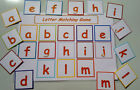 MATCH GAME - ALPHABET / COLOURS/ SHAPES/NUMBERS/ ANIMALS/HEALTHY EATING - EYFS