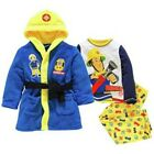 fireman sam dressing gown