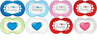 Mam Style I love mummy orthodontic soother 2 in pack 0m+/6m+ boys/girls bpa free