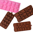 Silicone Ice Tray / Chocolate Cake Cookie Muffin Candy Jello Bakeware
