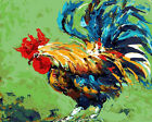 Huge Country Rooster Needlepoint Canvas 635