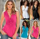 Fashion Women Summer Top Sleeveless  Blouse Ladies Casual Tops T-Shirt