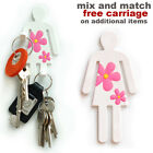 White lady flexible magnetic hook. Hang tea towels, keys. New kitchen