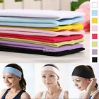 Clearance 1x Cotton Stretchy Headband for Girl Boy Sport Gym Yoga Free Post   EN