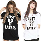 Cool Style Fashion Women's Short Sleeve Casual T-Shirt Tops Tee CC Letter Print