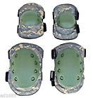 Water-resistant Non-Slip Airsoft Paintbal Elbow & Knee Pads Comfort& Performance