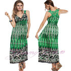Long Maxi Dress Summer Evening Cocktail Party Womens Ladies Plus Size 10 - 22