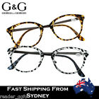 G&G Mens Ladies Stylish Trendy Leopard Print Reading Glasses +1.0~3.5