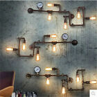 Industrial Retro Loft Edison Water Pipe Restaurant Wall Lamp Wall Sconce Fixture