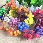 Wreath Decoration Artificial Berry Frost Multicolor Winter Christmas Decoration