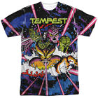 Atari Tempest Key Art Gamer Sublimation Licensed Adult T Shirt