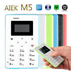 """For Camping Locate Single Core AIEK M5 Pocket 1.0"""" Mobile Card Phone OLED Mini"""