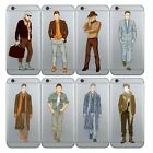 For iPhone SE 5s 6s Plus Thin TPU Soft Case 8 Patterns Handsome Men Model  Cover
