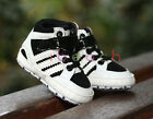 Infant Baby Girl Boy White Pre-Walker Boots High Top Sneakers Newborn -18 Months