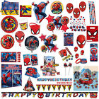 Marvel's Ultimate Spider-Man Children's Party Supplies Plates Tableware Listing