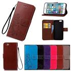 "For iPhone 6 6S Plus 5.5"" Flip Cover Case PU Leather 3D Stand Card Retro Emboss"