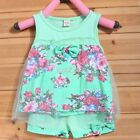 New Fashion Summer Outfit Baby Kids Girls bow Sleeveless Top+ Shorts Outfit S0BZ