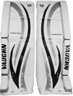 Vaughn 7490i ice hockey goalie goal 29+1.5 leg pads intermediate black/silver