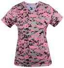 BADGER SPORTSWEAR LADIES B-CORE DIGITAL CAMO TEE - POLYESTER WICKING TEE