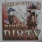 ALL AMERICAN OUTFITTERS RIDE'N DIRTY DIRT BIKE RACING SHIRT #365