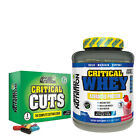 APPLIED NUTRITION CRITICAL WHEY 2.27KG + 7 DAYS OF CRITICAL CUTS FREE - FLAVOURS