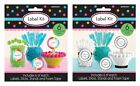LABEL KIT - Labels, Sticks, Stands, Tape (Decorative/Party/Food/Candy)(Amscan)