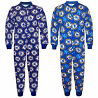 Chelsea Football Club Official Soccer Gift Boys Kids Pajama Onesie Navy Blue