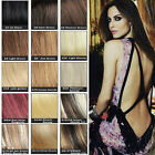 Clip In Human Remy Hair Extensions 7pcs/set 22 Inches 80g 15 Colours Thin
