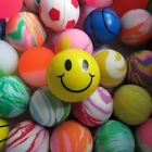 10pcs Super High Bouncy Balls Birthday Party Carnivals Loot Bag Toy Fillers 23mm