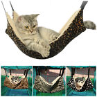 Cat Soft Hammock Leopard Fur Bed Animal Hanging Cage Pet Comforter Ferret