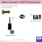 Wireless WiFi Low LUX Door Camera Home Surveillance using iPhone / Android Phone