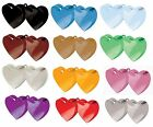 DOUBLE HEART Balloon Weights (170g/6oz) Range of 13 Colours