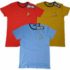 OFFICIAL Star Trek Engineer Science Medical Uniform Fancy Dress T-Shirt  16C on eBay