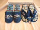 BUD LIGHT - Men or Women Slippers Budweiser Official Product - You Choose - NWT