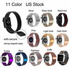 New Magnetic Milanese Stainless Steel Strap Band for Apple Watch Series 3 2 1