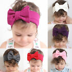 Kid Baby Girls Toddler Cute Headband Hair Bow Band Headwear Accessories New