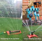 15 Jet Oscillating or 3 Arm Revolving Sprinkler Spray for Water Watering Lawns