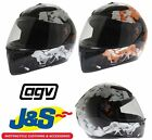 AGV K3 SV FULLBOMB WHITE ORANGE BLACK MOTORBIKE HELMET MOTORCYCLE FULL FACE J&S