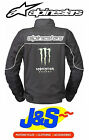 ALPINESTARS BOOST TEXTILE MONSTER ENERGY MOTORCYCLE JACKET WATERPROOF SPORTS J&S