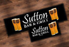 PERSONALISED BREWDOG CRAFT BEER BAR RUNNER IDEAL FOR HOME PUB PARTY OCCASION