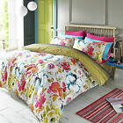 Zaire Vibrant Summer Floral Duvet Cover Set - Blueprint By Ashley Wilde