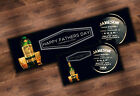 PERSONALISED FATHER'S DAY BEER RUNNER IDEAL FOR HOME PUB PARTY OCCASION